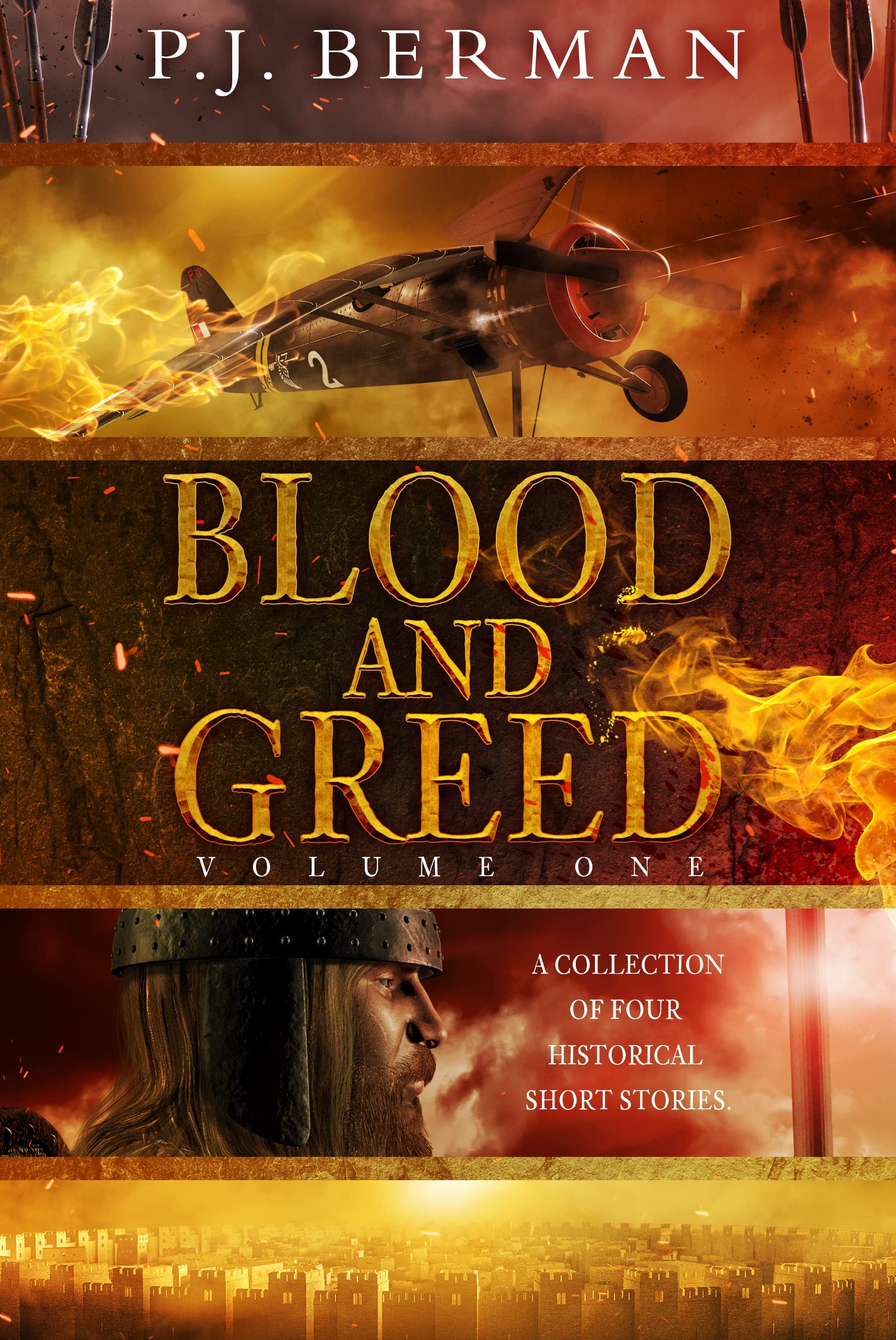 Blood and Greed (Volume 1) by P.J. Berman